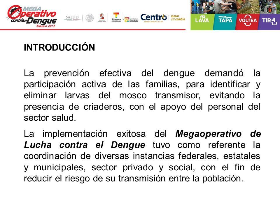 La prevención efectiva del dengue demandó la participación activa de las familias, para identificar y eliminar larvas del mosco transmisor, evitando l