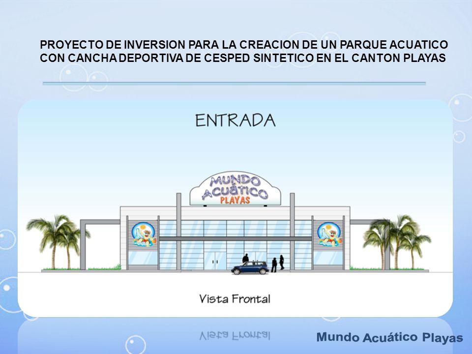 PROYECTO DE INVERSION PARA LA CREACION DE UN PARQUE ACUATICO CON CANCHA DEPORTIVA DE CESPED SINTETICO EN EL CANTON PLAYAS
