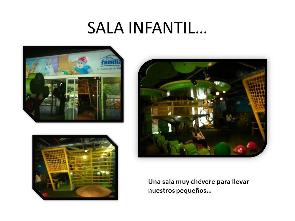 SALA INFANTIL… Una sala muy chévere para llevar nuestros pequeños…
