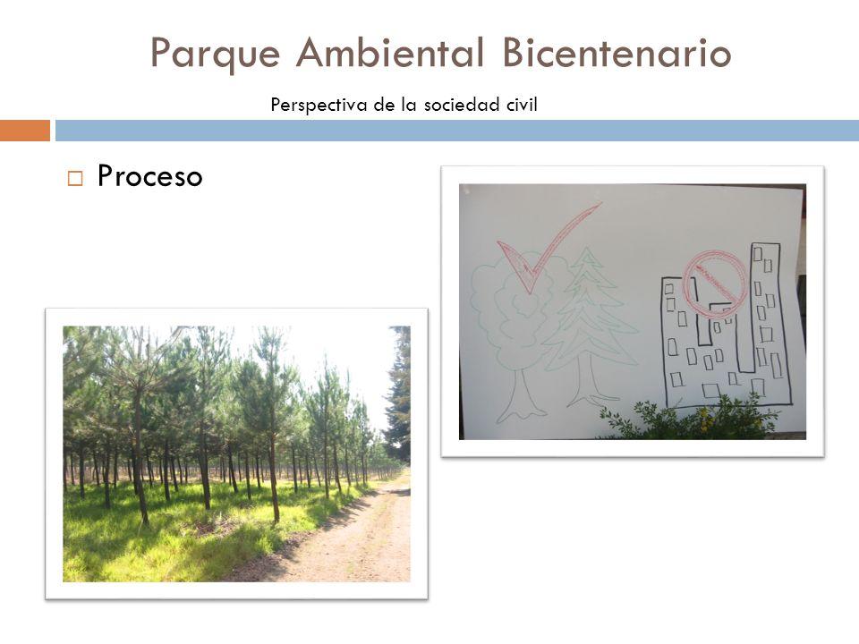 Proceso Parque Ambiental Bicentenario Perspectiva de la sociedad civil