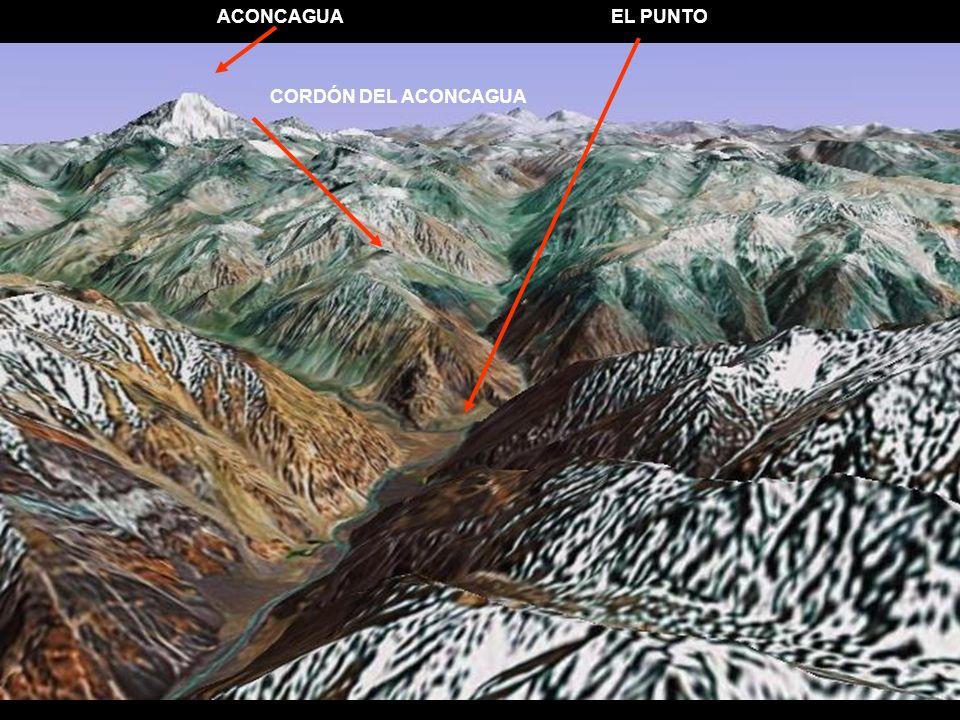 ACONCAGUA CORDÓN DEL ACONCAGUA EL PUNTO