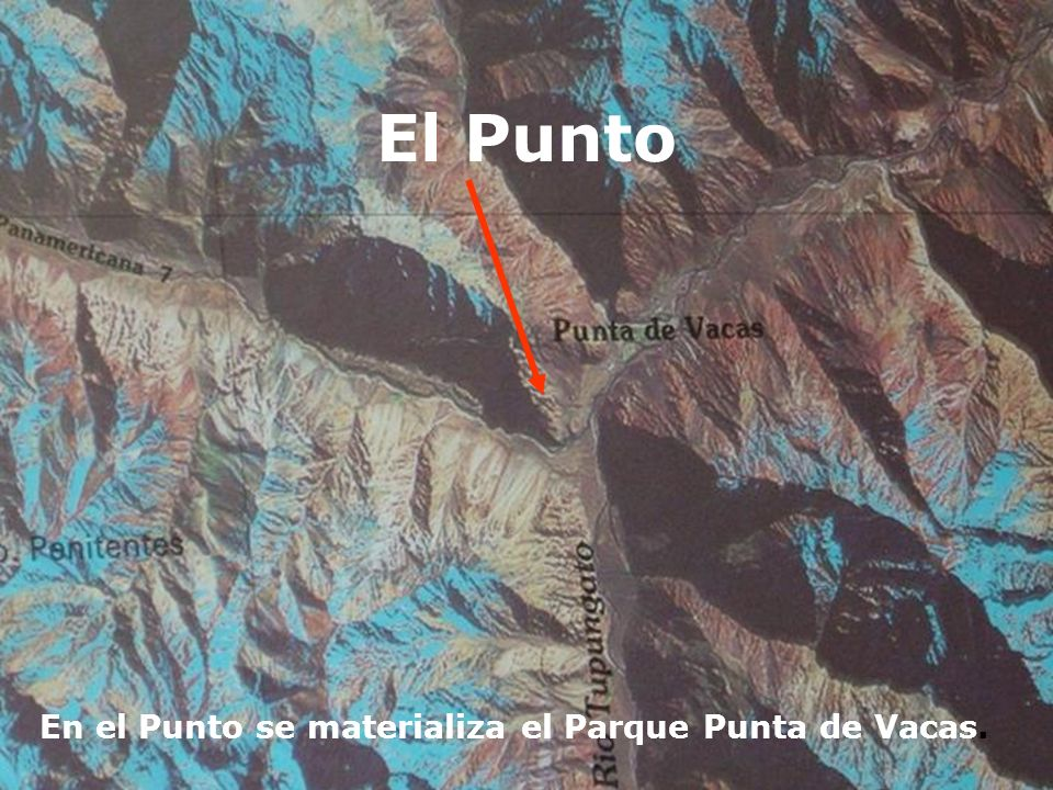 El Punto En el Punto se materializa el Parque Punta de Vacas.