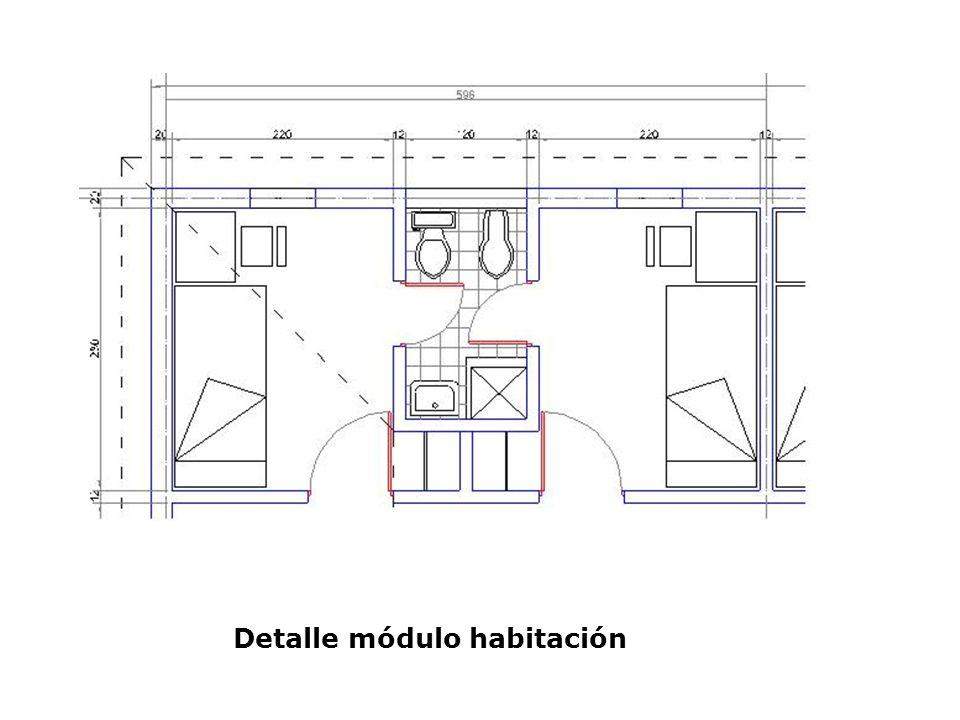 Detalle módulo habitación