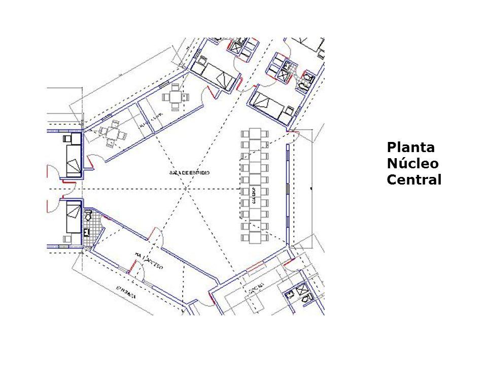 Planta Núcleo Central