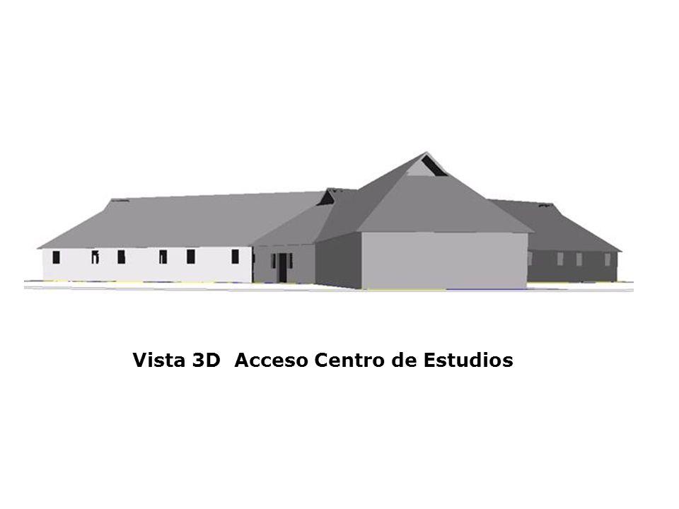 Vista 3D Acceso Centro de Estudios