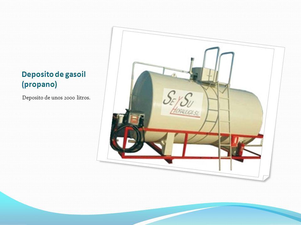 Deposito de gasoil (propano) Deposito de unos 2000 litros.