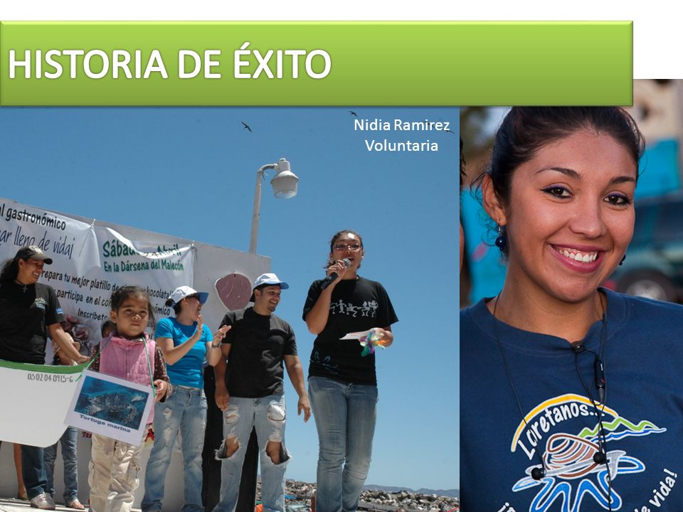Nidia Ramirez Voluntaria