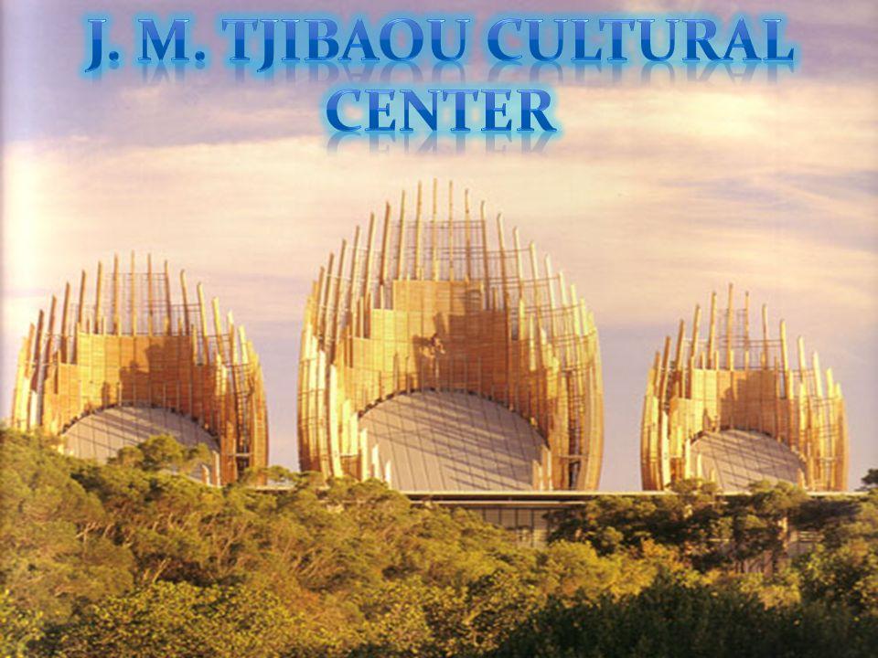 J.M.TIBAOU CULTURAL CENTER Se encuentra en Nouméa,capital de Nueva Caledonia.