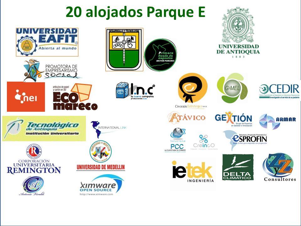 20 alojados Parque E
