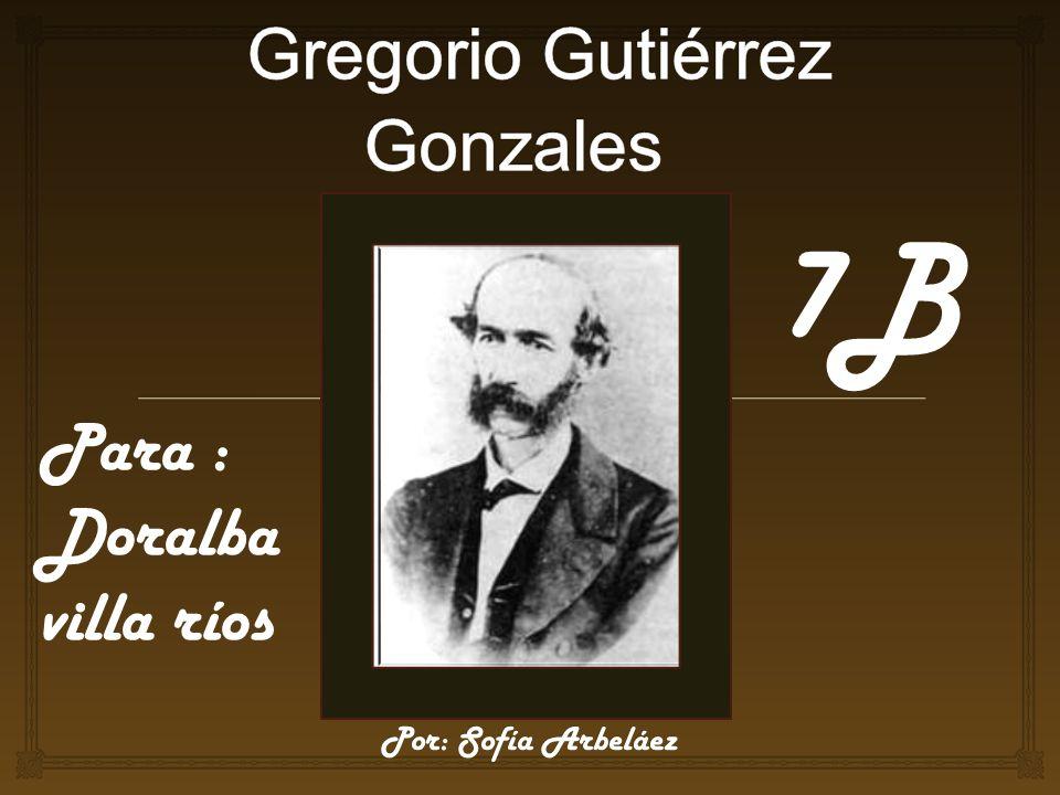 RECONOCIMIENTOS En esa época no era una costumbre los premios literarios aquí en Colombia, por lo tanto Gregorio Gutiérrez Gonzales no recibió ningún reconocimiento.