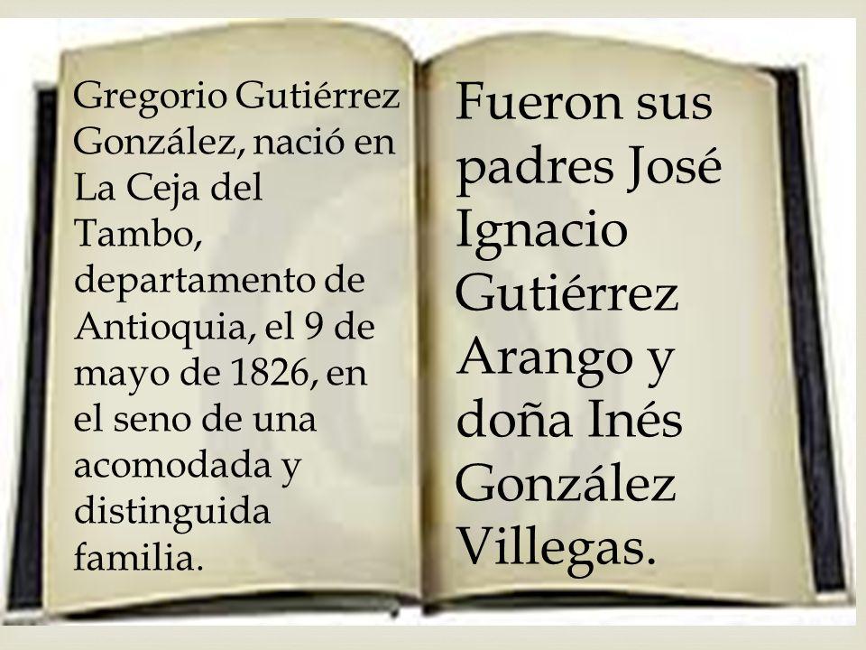 Estudios: Primero estudio en Santafé de Antioquia y Seminario de Medellín.