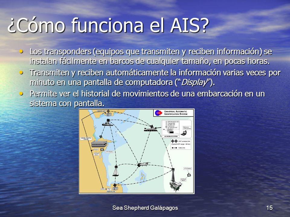¿Cómo funciona el AIS? Los transponders (equipos que transmiten y reciben información) se instalan fácilmente en barcos de cualquier tamaño, en pocas