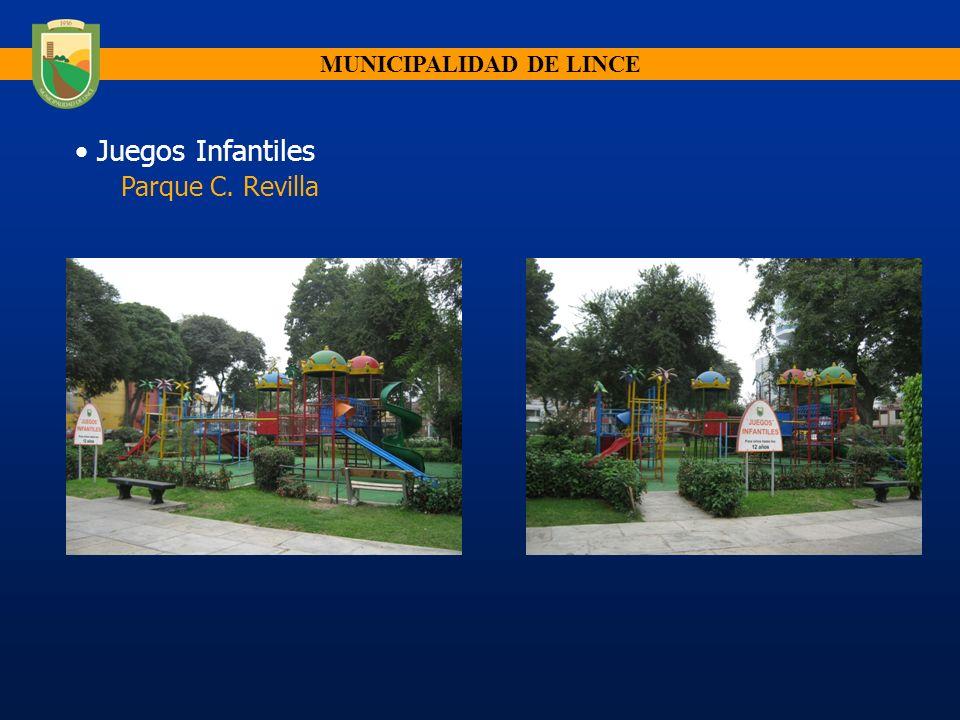 Juegos Infantiles Parque C. Revilla MUNICIPALIDAD DE LINCE