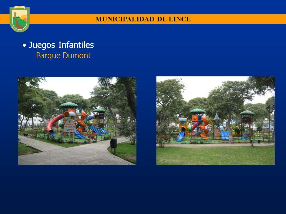 Juegos Infantiles Parque Dumont MUNICIPALIDAD DE LINCE