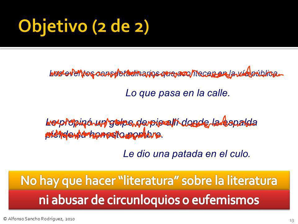 © Alfonso Sancho Rodríguez, 2010 12 Ante el problema del botellón, el planteamiento del autor, algo exagerado, tiene dos vertientes: por una parte tra