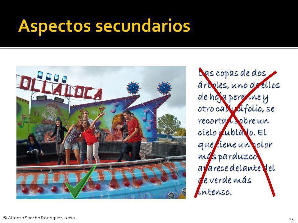 © Alfonso Sancho Rodríguez, 2010 14 El texto nos habla de… El autor narra en este fragmento… El fragmento propuesto para ser condensado trata sobre…