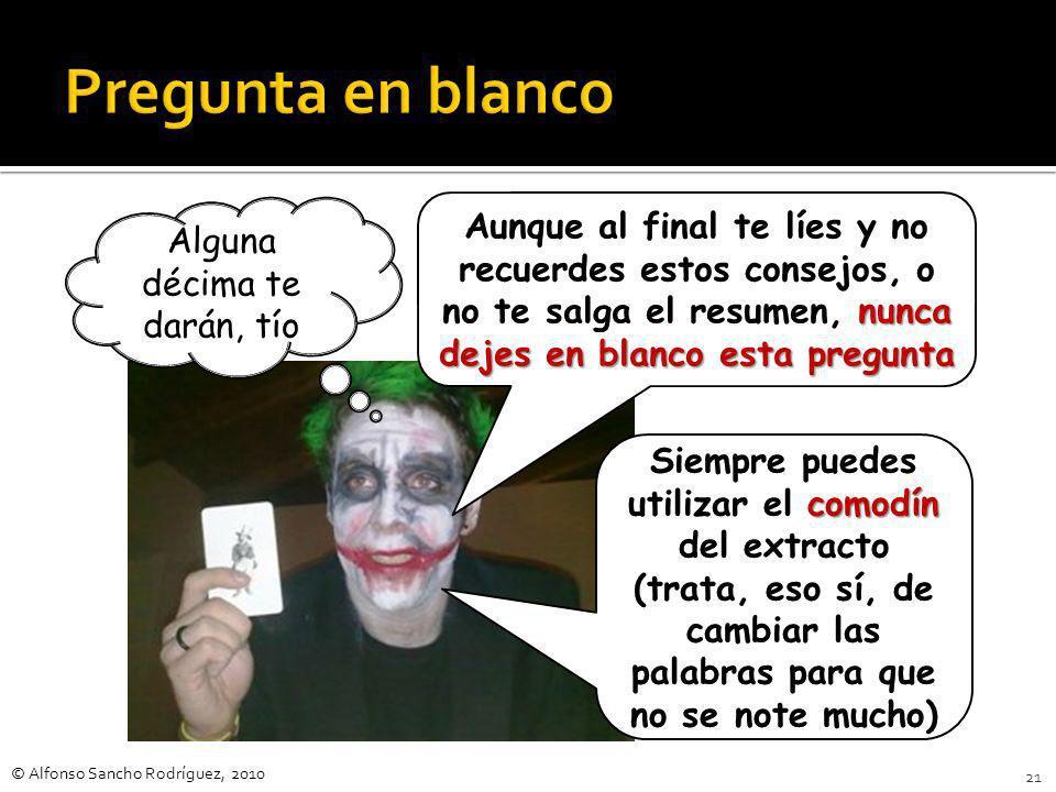 © Alfonso Sancho Rodríguez, 2010 20 Todos estos adolescentes que, sor- prendidos cruelmente por su propio organismo en desarrollo con descargas hormon