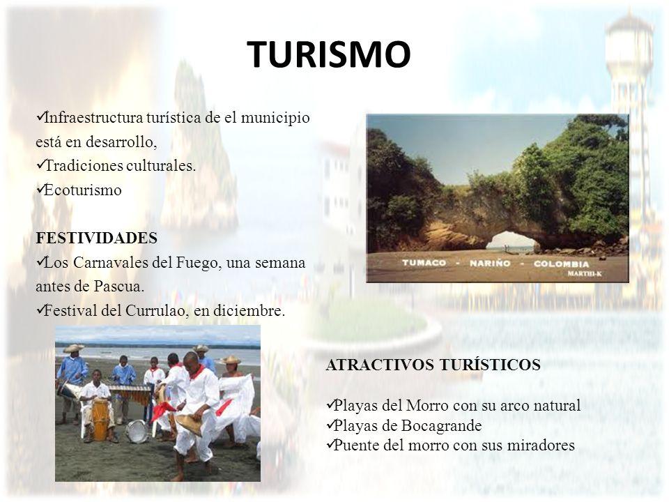 TURISMO Infraestructura turística de el municipio está en desarrollo, Tradiciones culturales. Ecoturismo FESTIVIDADES Los Carnavales del Fuego, una se