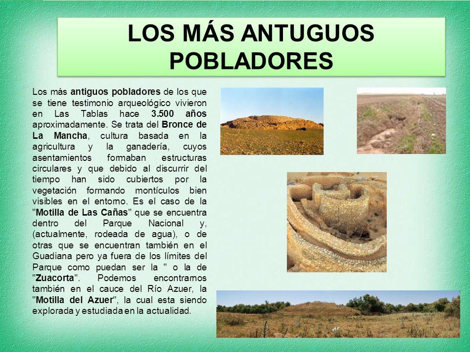 LOS MÁS ANTUGUOS POBLADORES Los más antiguos pobladores de los que se tiene testimonio arqueológico vivieron en Las Tablas hace 3.500 años aproximadamente.