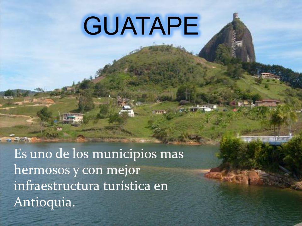 Es uno de los municipios mas hermosos y con mejor infraestructura turística en Antioquia.