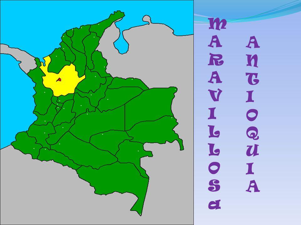 Antioquia es uno de los 32 departamentos de Colombia, y su capital es Medellín.
