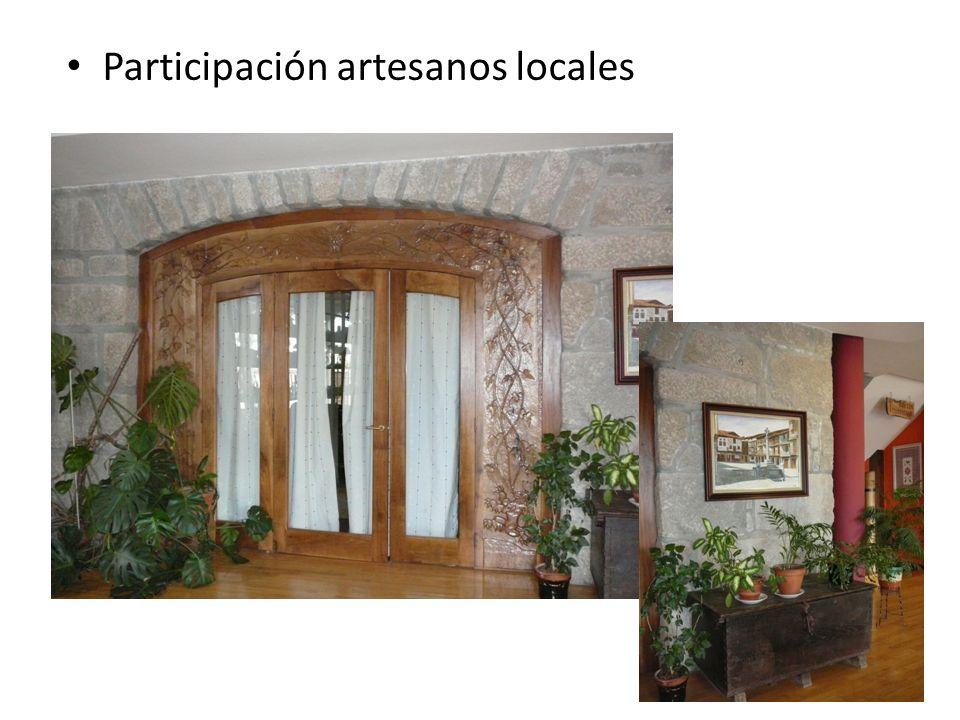 Participación artesanos locales