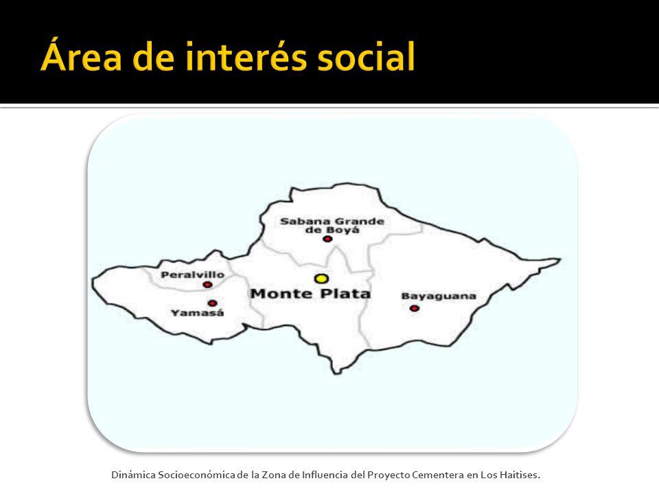 Enfrentar los problemas socioeconómico de la zona: 1.