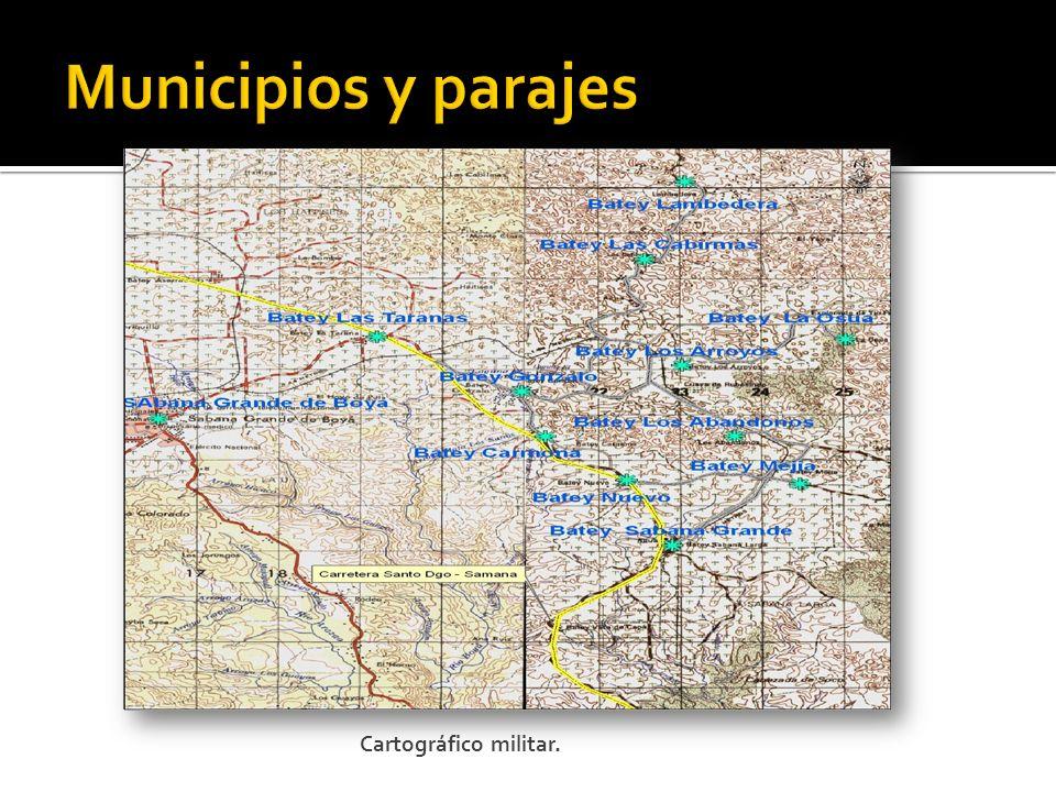 Cartográfico militar.