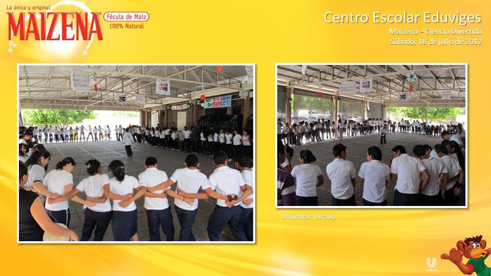 Dinámica: Circulo Centro Escolar Eduviges Maizena – Ciencia Divertida Sábado, 18 de julio de 2012
