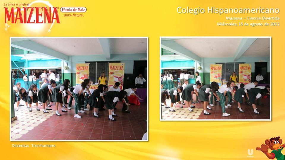 Ganadora de kit de Maizena Dinámica: La gravedad Colegio Hispanoamericano Colegio Hispanoamericano Maizena – Ciencia Divertida Miércoles, 15 de agosto de 2012