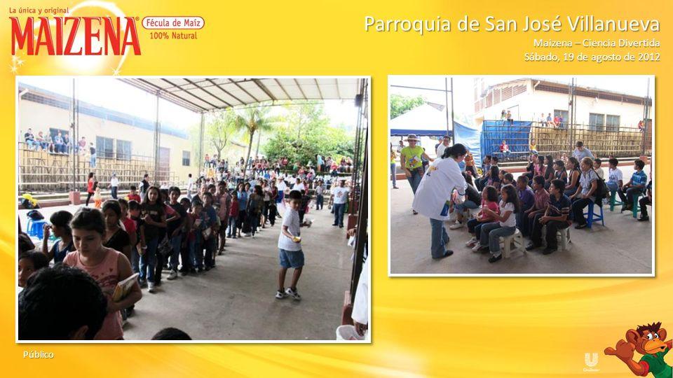 Dinámica: Globos hidratados Parroquia de San José Villanueva Parroquia de San José Villanueva Maizena – Ciencia Divertida Sábado, 19 de agosto de 2012