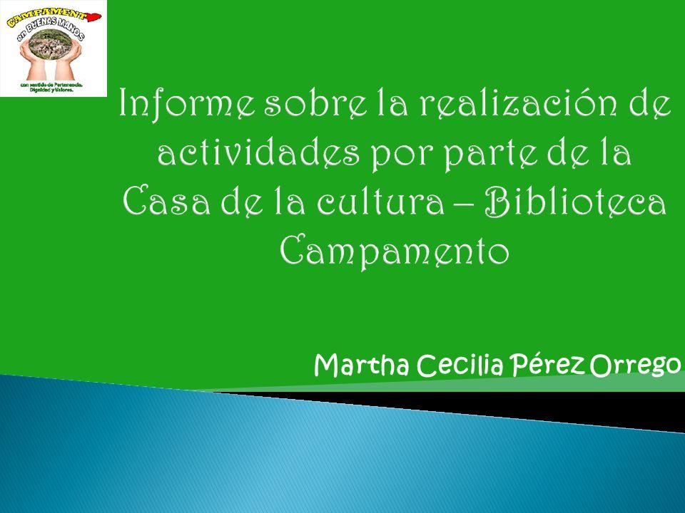 Martha Cecilia Pérez Orrego