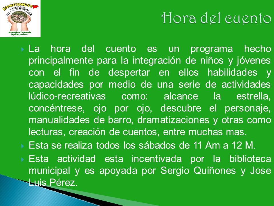 Acto cultural con todas las instituciones educativas urbanas y Semiurbanas.