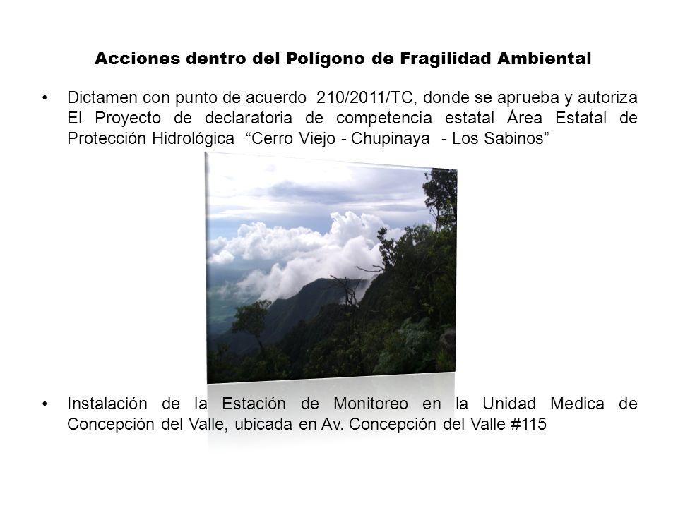 Dictamen con punto de acuerdo 210/2011/TC, donde se aprueba y autoriza El Proyecto de declaratoria de competencia estatal Área Estatal de Protección H