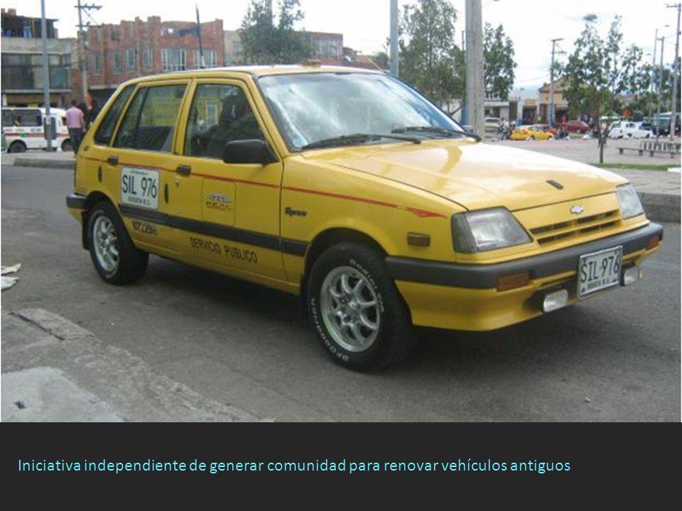 Iniciativa independiente de generar comunidad para renovar vehículos antiguos