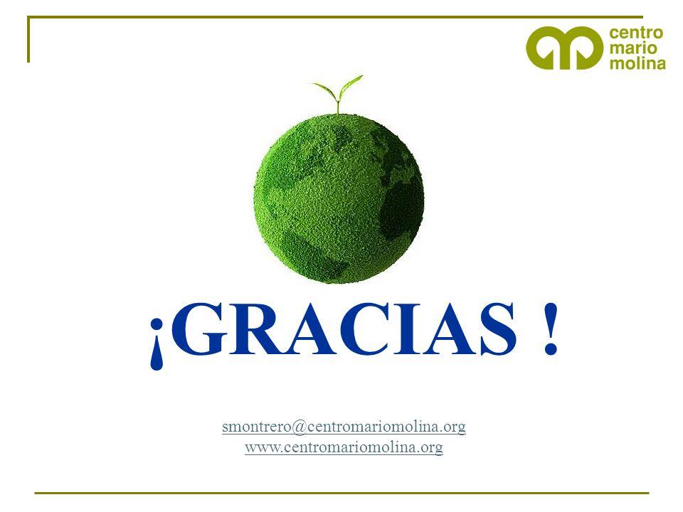 smontrero@centromariomolina.org www.centromariomolina.org ¡GRACIAS !