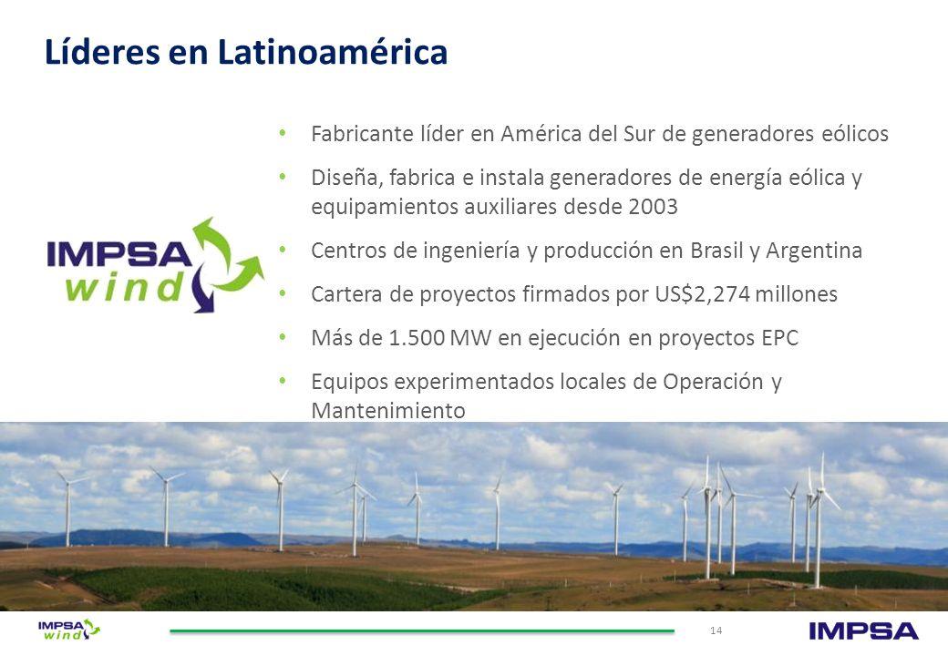 De fabricación monolítica y alta performance LA TASAJERA Pelton | 105 MW Las más grandes y eficientes del mundo TOCOMA Kaplan | 235 MW La central con