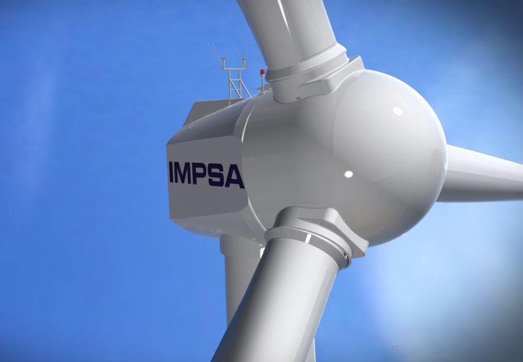 GENREN I Parques eólicos Argentinos adjudicados a IMPSA IMPSA resultó seleccionada con un total de 155 MW de Energía Eólica Proyecto MALASPINA I MALAS