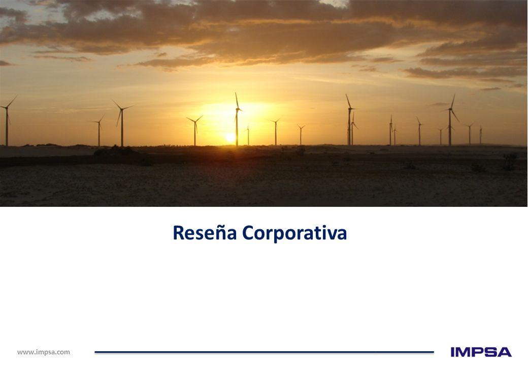 www.impsa.com 280.000 empleos directos e indirectos acumulados; La mayor parte durante la fase de construcción de parques eólicos; En el periodo serán