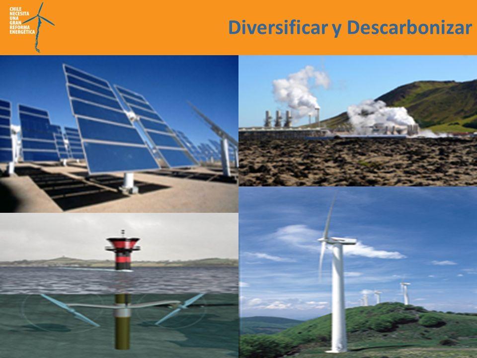 Diversificar y Descarbonizar