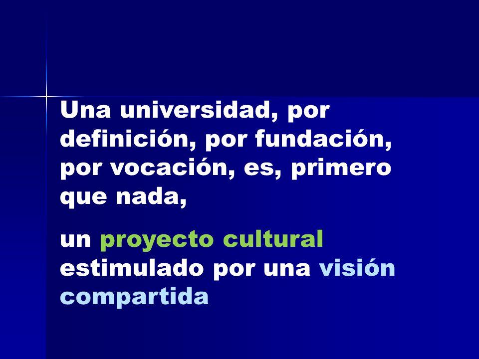 ¿qué diagnóstico hacemos desde nuestra situación universitaria acerca de los cambios culturales a nuestro alrededor?