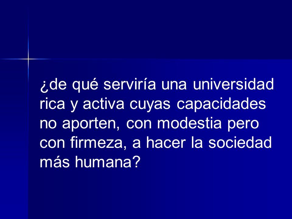desarrollo integral y sustentable es una responsabilidad social del sector del conocimiento, académico, universitario