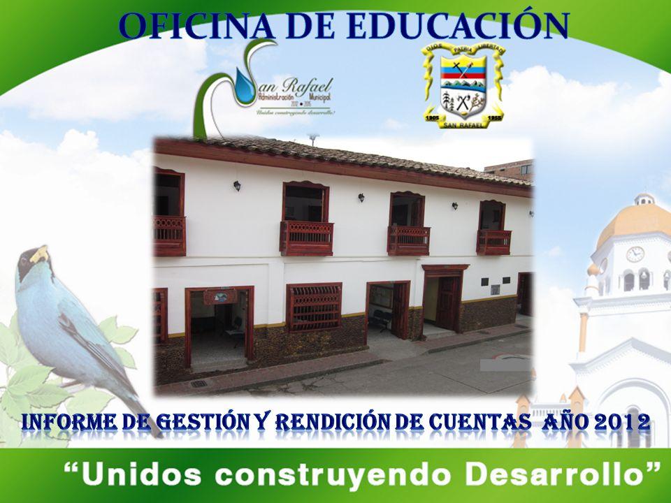 Promoción de una Sociedad de Conocimiento Educación para el Emprendimiento San Rafael Construyendo una Educación Incluyente para todos