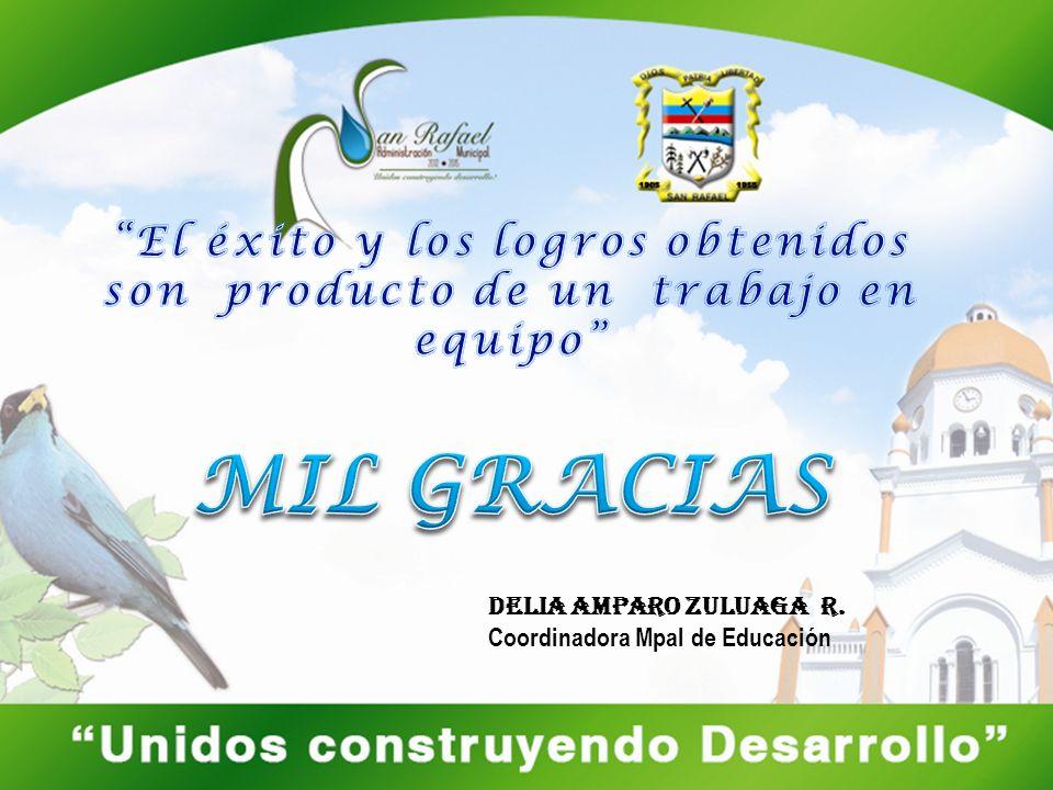 Delia Amparo Zuluaga r. Coordinadora Mpal de Educación