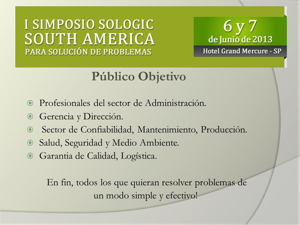 Público Objetivo Profesionales del sector de Administración.