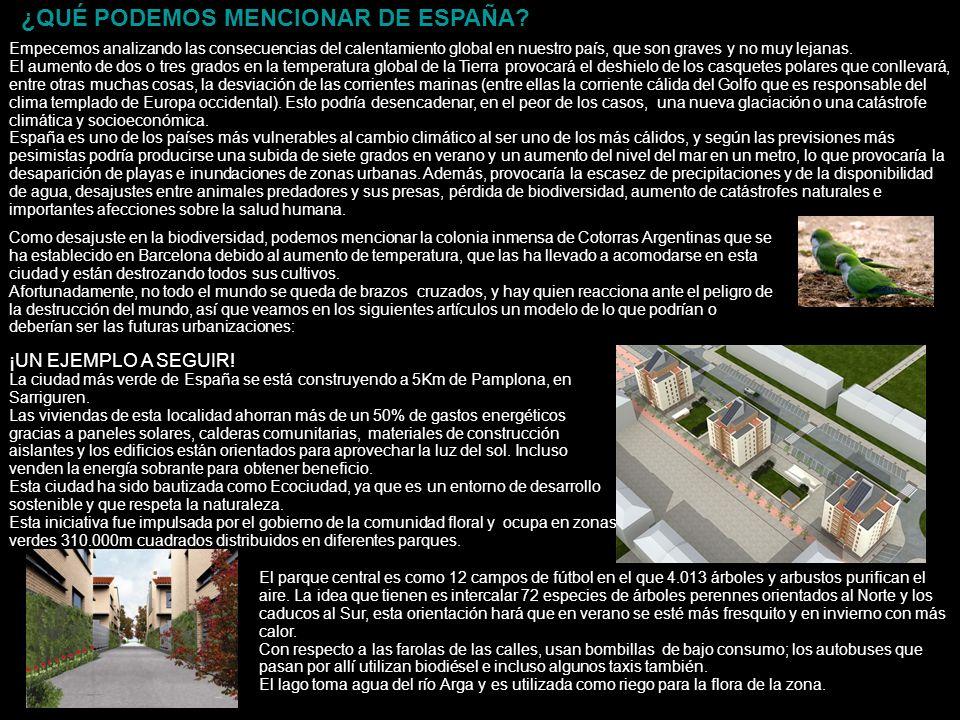 ¡UN EJEMPLO A SEGUIR! La ciudad más verde de España se está construyendo a 5Km de Pamplona, en Sarriguren. Las viviendas de esta localidad ahorran más