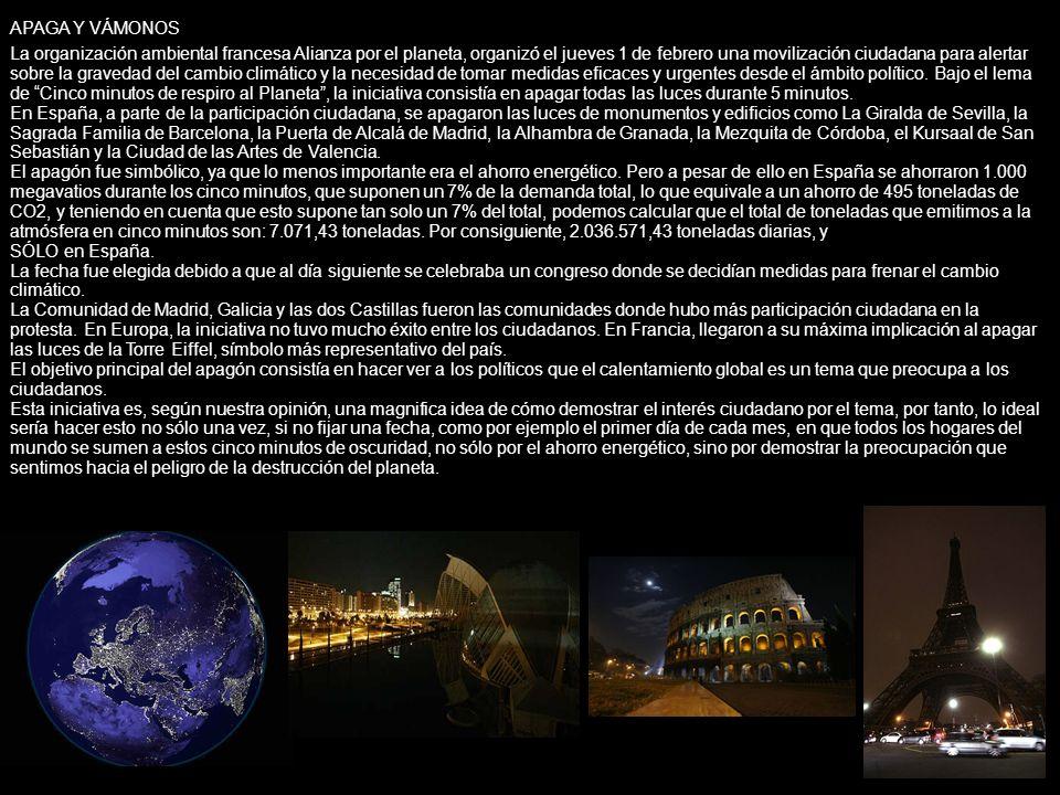 La organización ambiental francesa Alianza por el planeta, organizó el jueves 1 de febrero una movilización ciudadana para alertar sobre la gravedad d