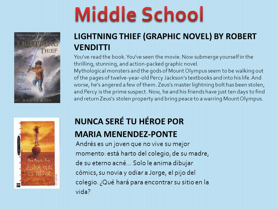 LIGHTNING THIEF (GRAPHIC NOVEL) BY ROBERT VENDITTI You've read the book. You've seen the movie. Now submerge yourself in the thrilling, stunning, and