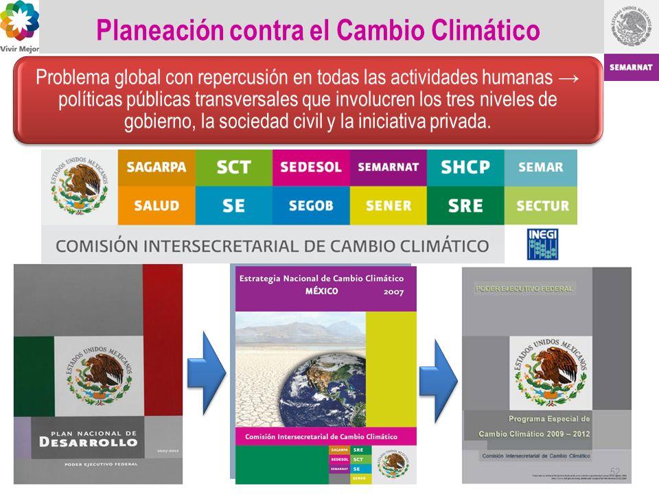 Planeación contra el Cambio Climático 52