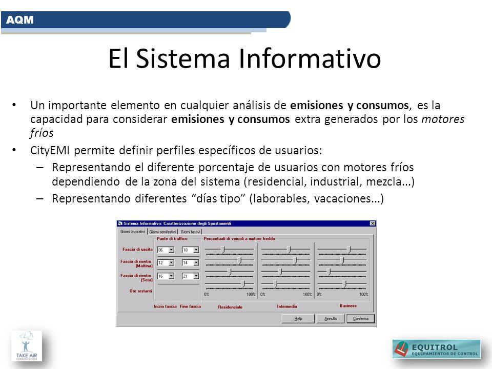 El Sistema Informativo Un importante elemento en cualquier análisis de emisiones y consumos, es la capacidad para considerar emisiones y consumos extr